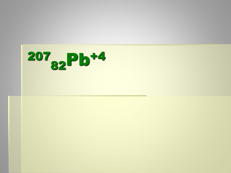 207 82 Pb +4