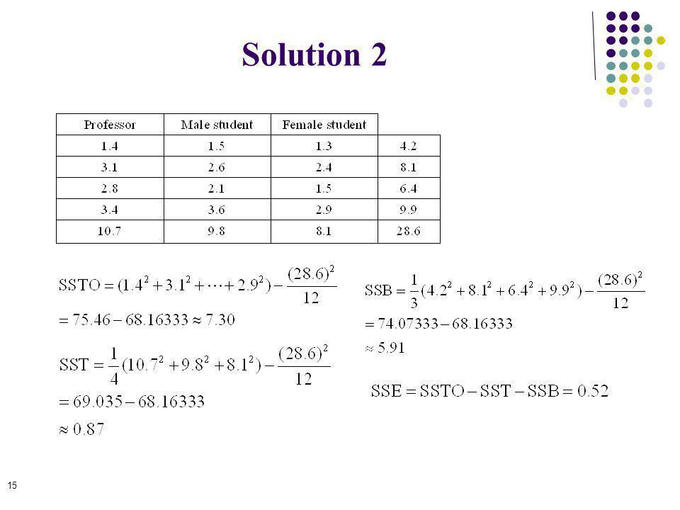 Solution 2 15