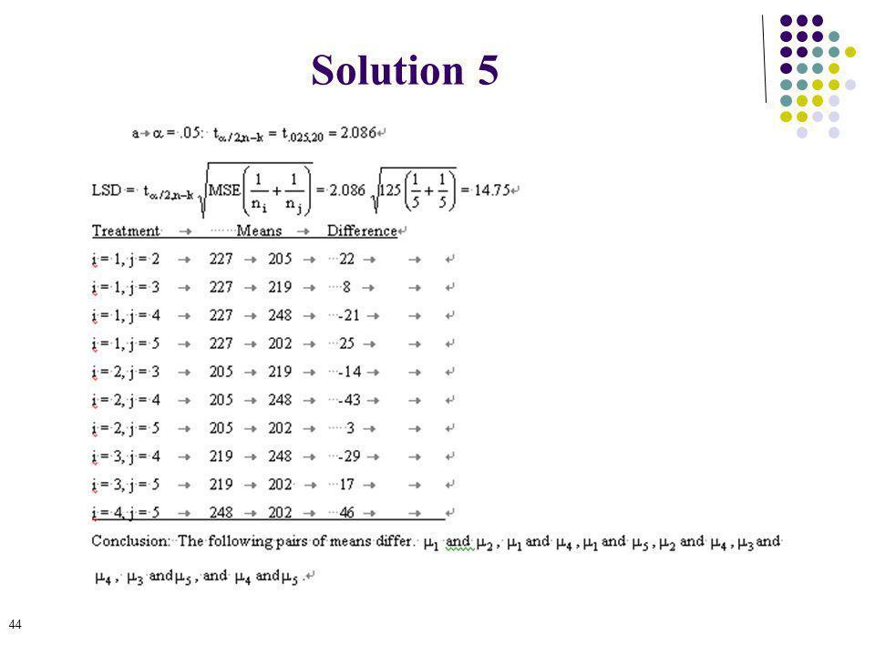 44 Solution 5