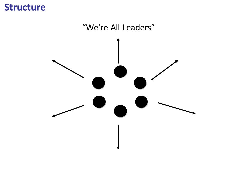 "Structure ""We're All Leaders"""