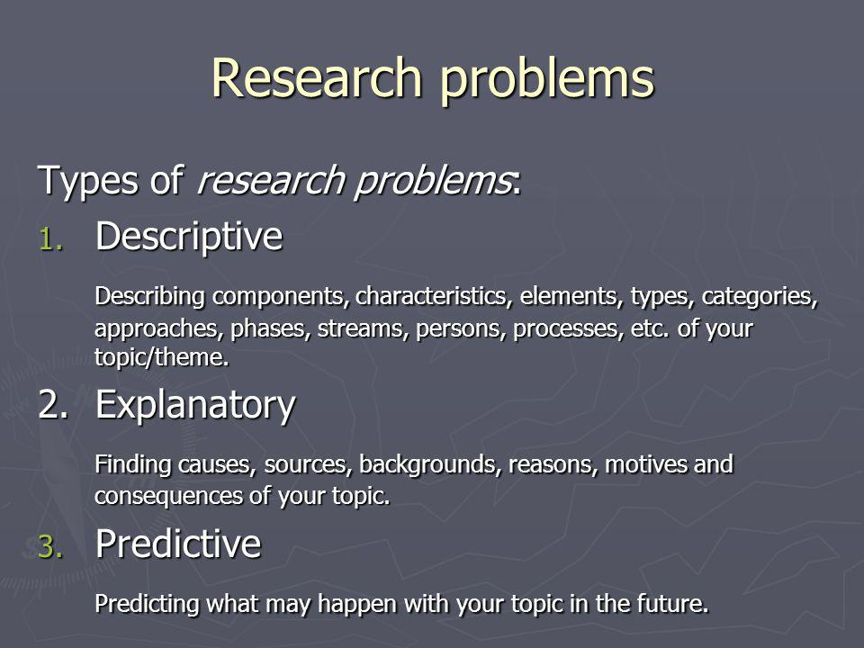 Research questions ► Designing: 1.How/what should X be.