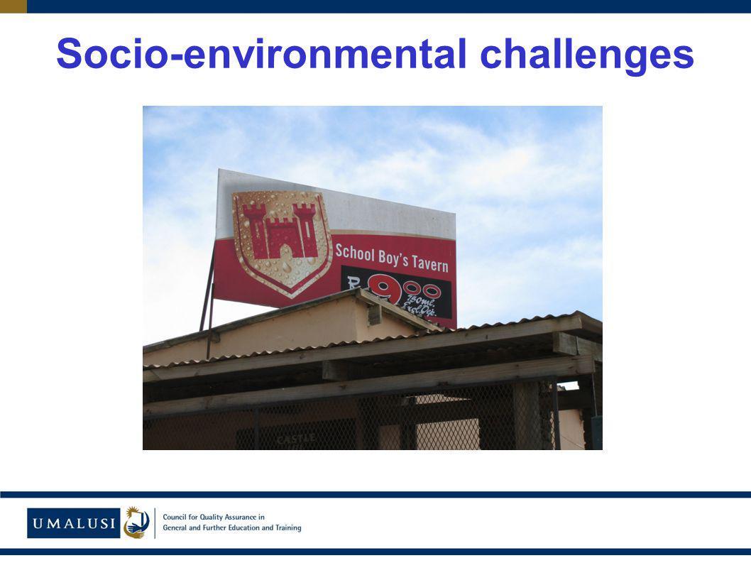 Socio-environmental challenges