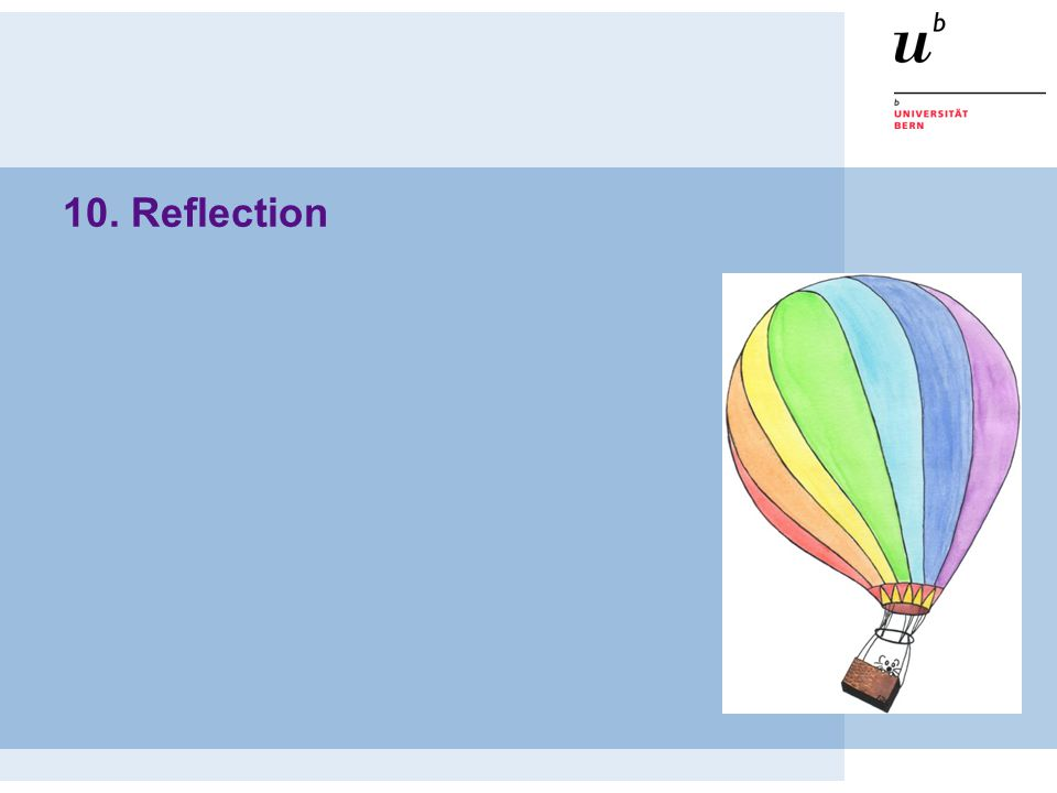10. Reflection