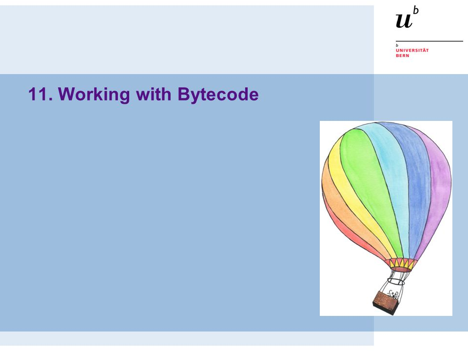 11. Working with Bytecode