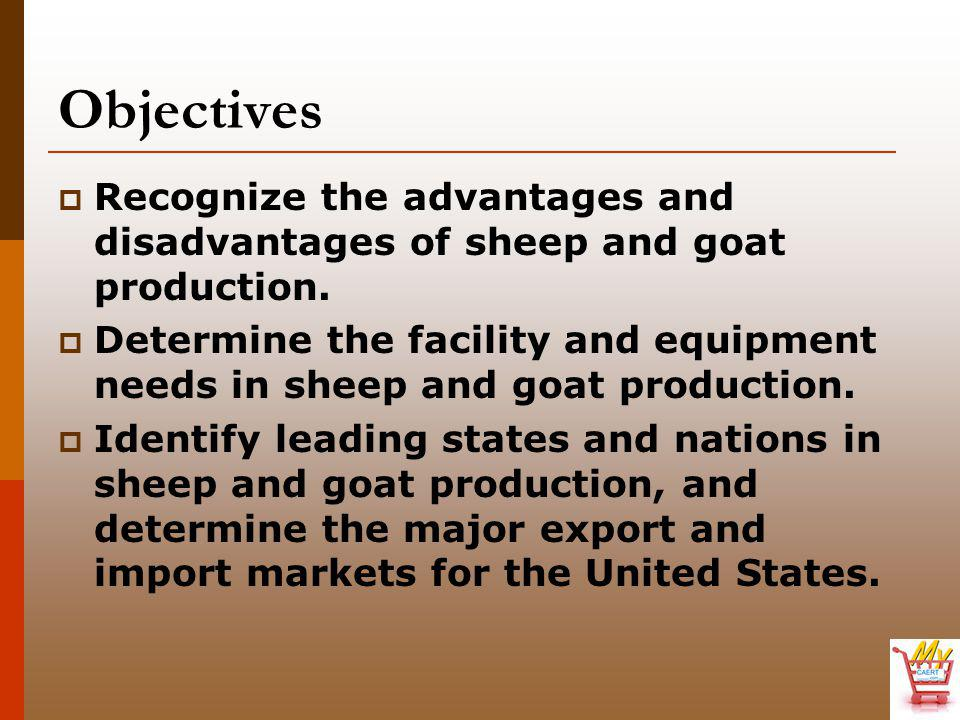 What are common types of goats, and how do they differ.