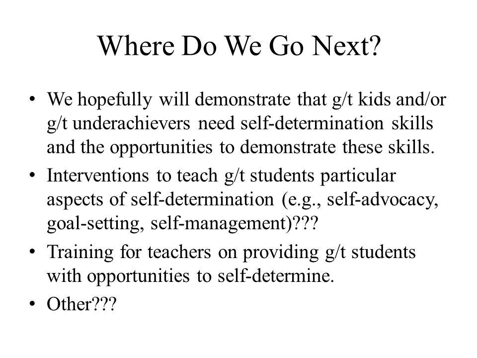 Where Do We Go Next.