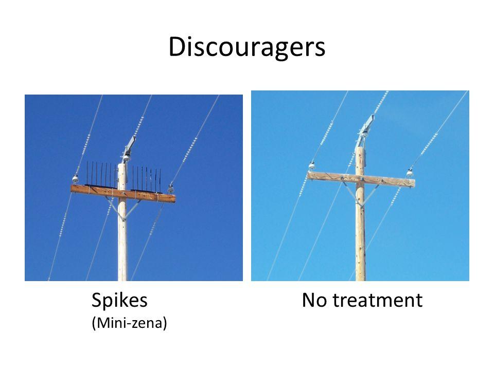 Discouragers No treatmentSpikes (Mini-zena)