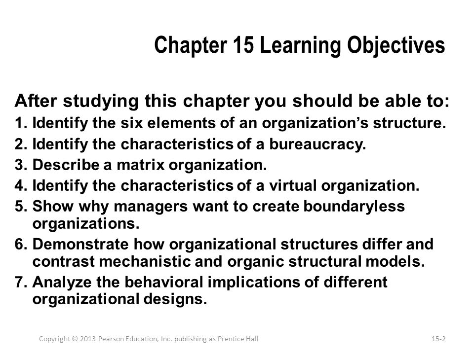 Demonstrate how organizational structures differ and contrast mechanistic and organic structural models There is considerable evidence to support that an organization's size significantly affects its structure.