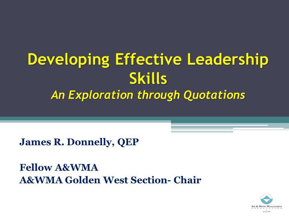 What Is Leadership? All Leadership is influence. John C. Maxwell, Injoy, Inc