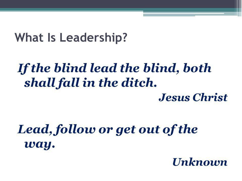 How does leadership differ from Management.