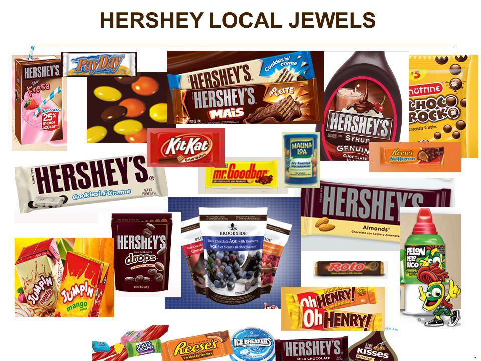 HERSHEY LOCAL JEWELS 5