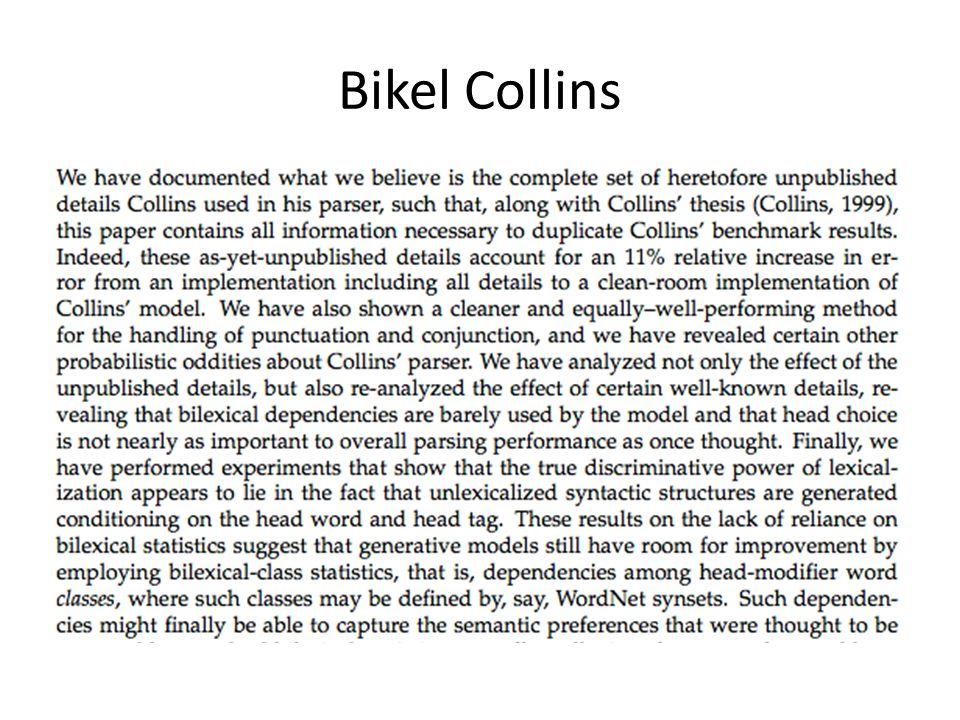 Bikel Collins