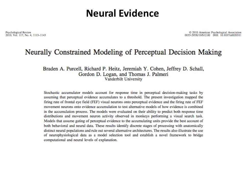 Neural Evidence