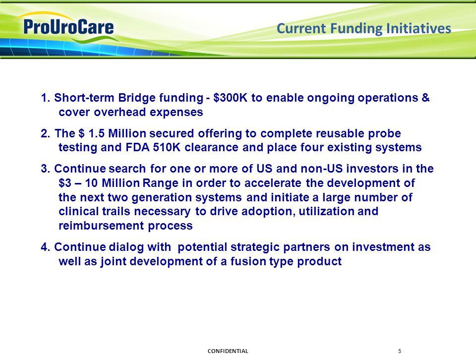 Current Funding Initiatives 1.