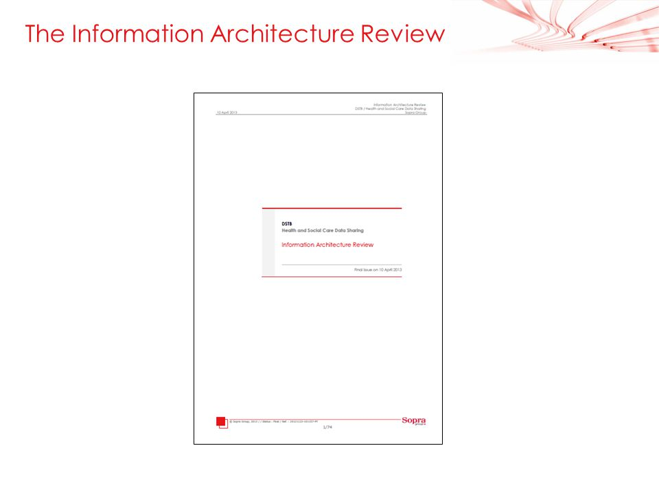 6 The Information Architecture Review
