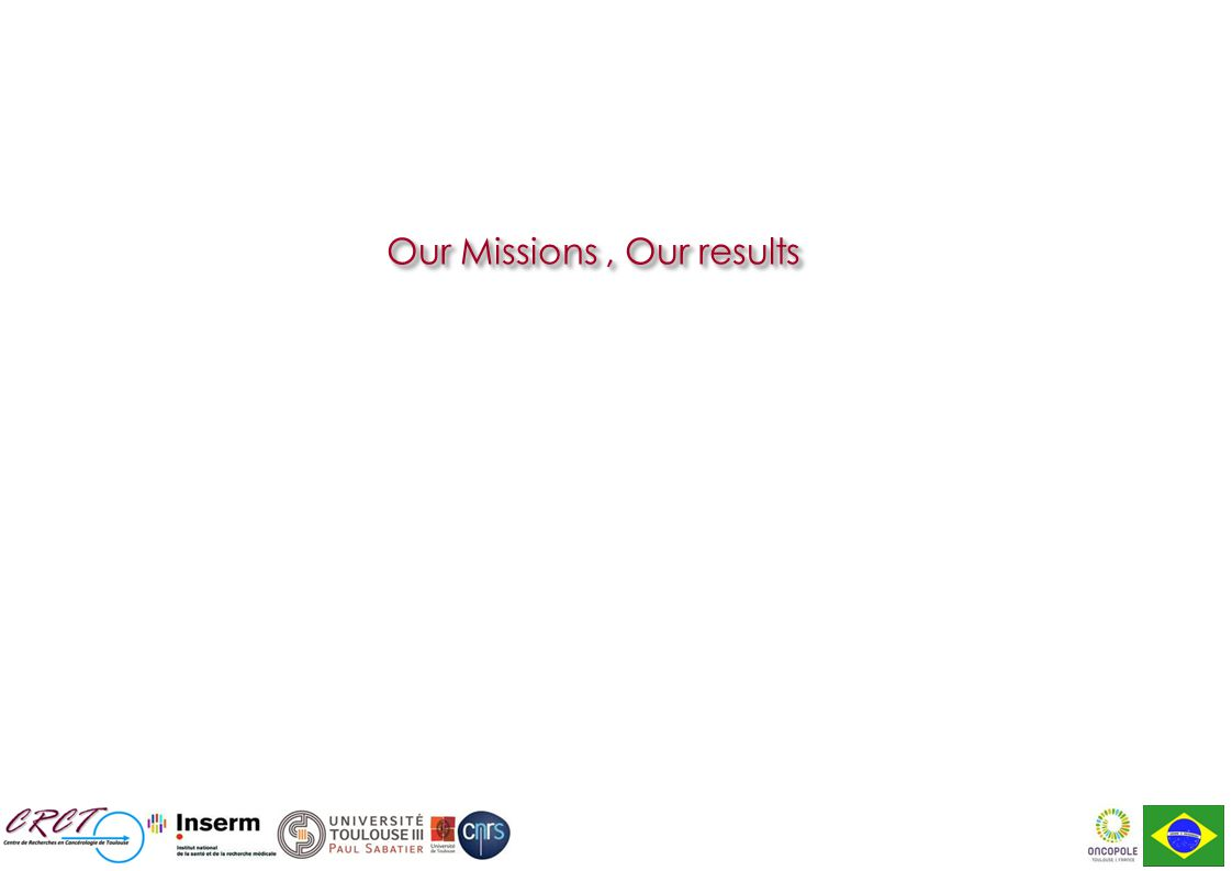 Our Missions, Our results
