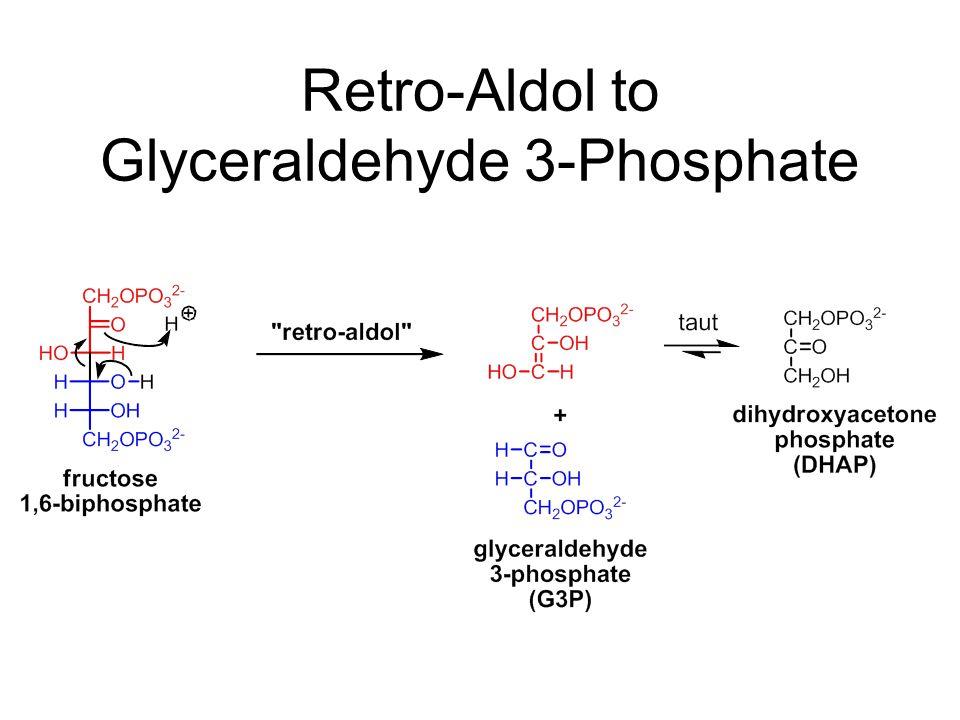 Retro-Aldol to Glyceraldehyde 3-Phosphate