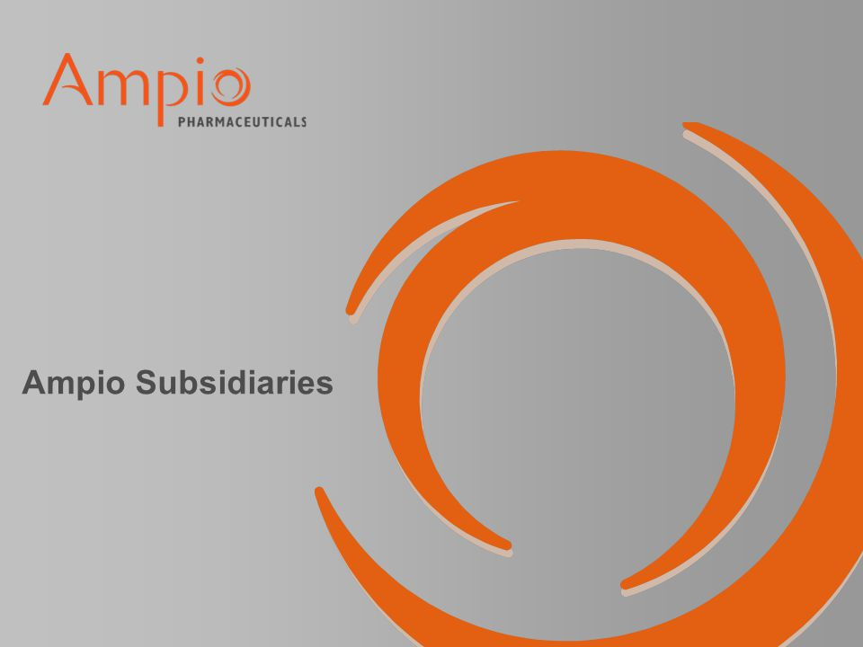 Ampio Subsidiaries