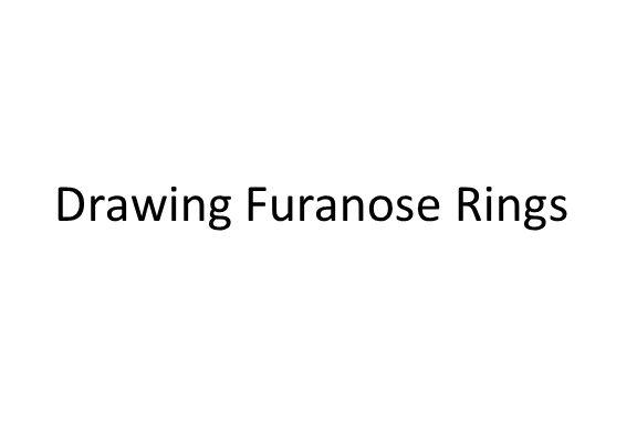 Drawing Furanose Rings