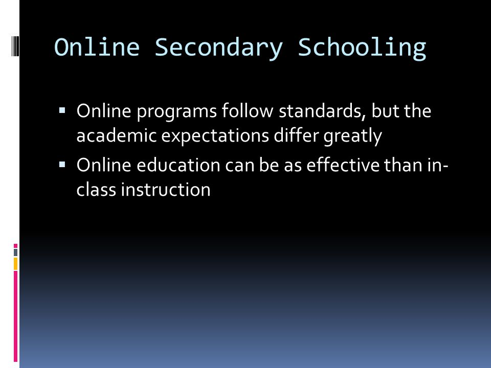 Disadvantages to Online Learning:  Underutilized talents and facilities  Cost is still equivalent if not more than brick and mortar school  Course availability  Employment  Working Alone  Missing out on non-verbal communication