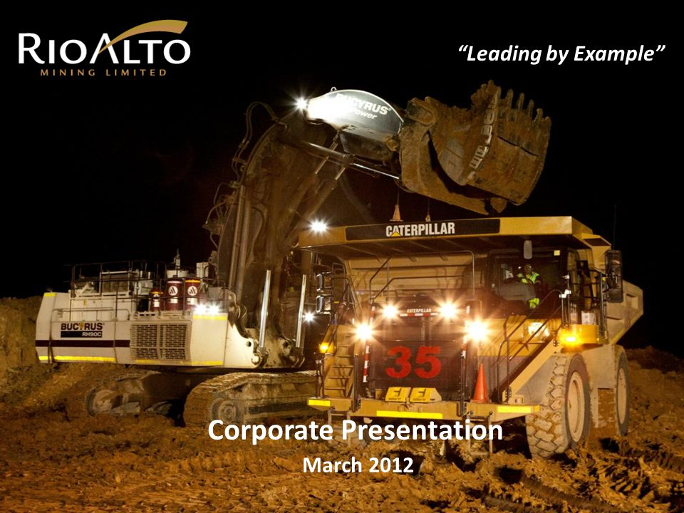 TSX: RIO BVL: RIO OTCQX: RIOAF FSE: MS2 La Arena - Project Description 12 Advanced mid-sized gold & copper / gold development project IAMGOLD/Cambior spent $34 M exploring for gold, completing 60,000m in diamond drilling Rio Alto paid IAMGOLD $49.0 M to acquire 100% of La Arena Conventional oxide dump leach (ROM), sulphide flotation / concentration and low cost mining Known mining district with excellent infrastructure Low cost gold production, low capital Cash flow from gold oxides – first production achieved May 6, 2011 Low start-up capital ($ 51 M incl.