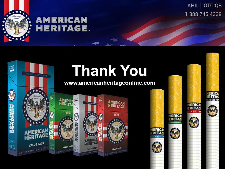 Thank You www.americanheritageonline.com