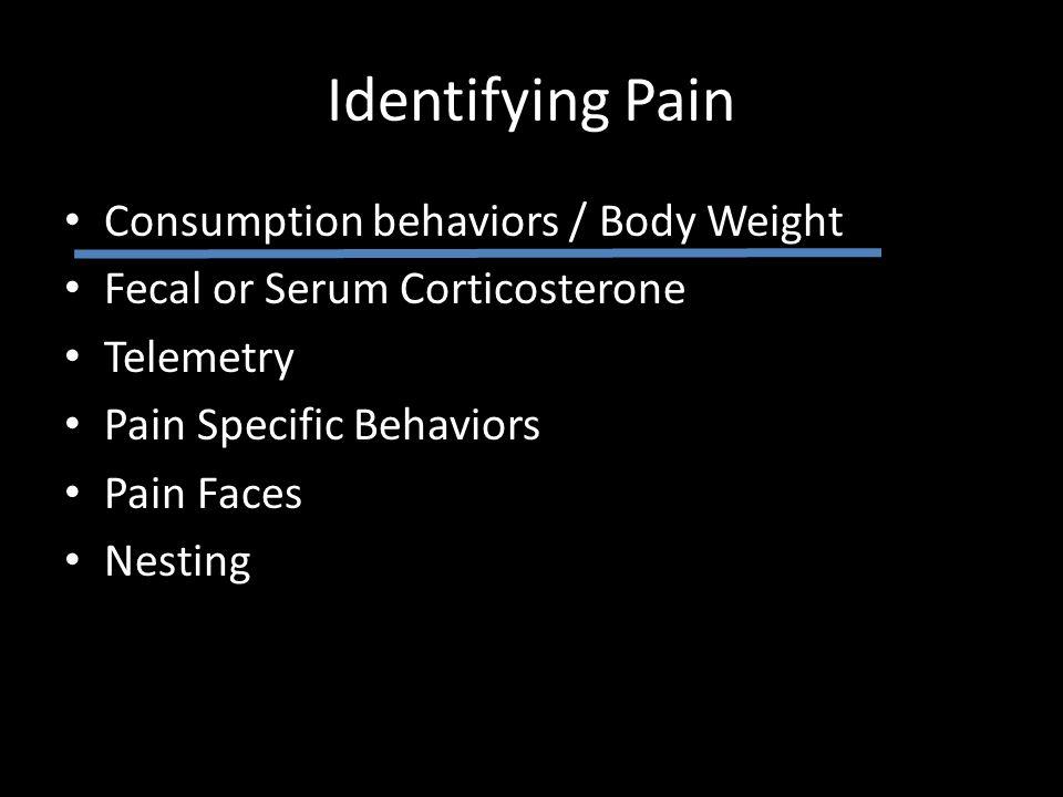 Pain Faces in Mice Langford, et al.2010.
