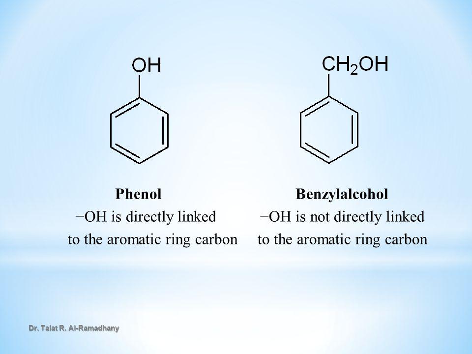 Dr.Talat R. Al-Ramadhany Preparation of Phenols in the laboratory i.