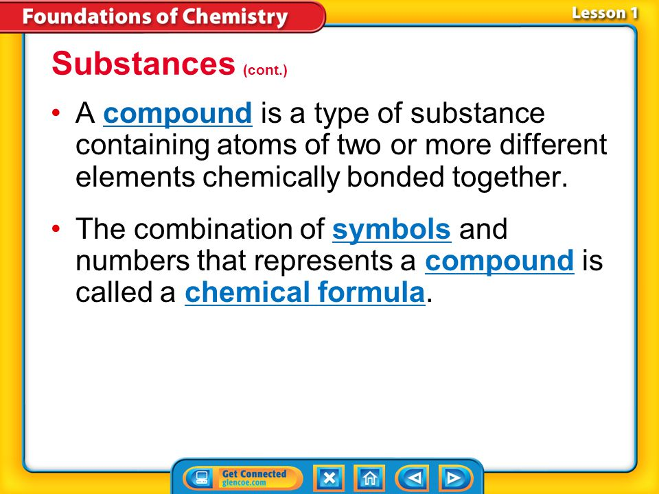 Lesson 1-3 Substances (cont.) How do atoms of different elements differ.