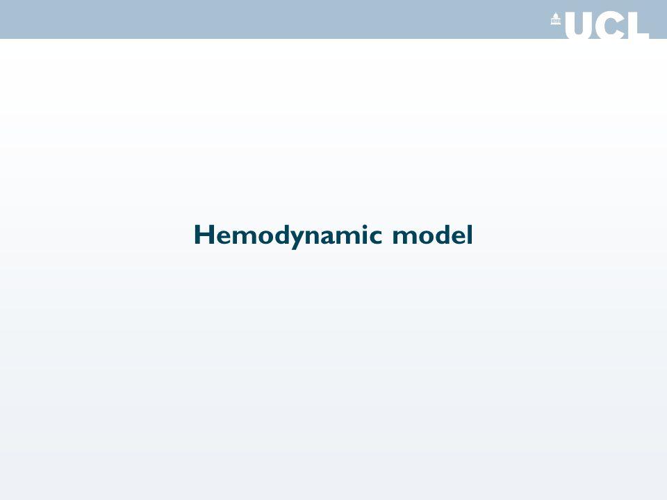 Hemodynamic model