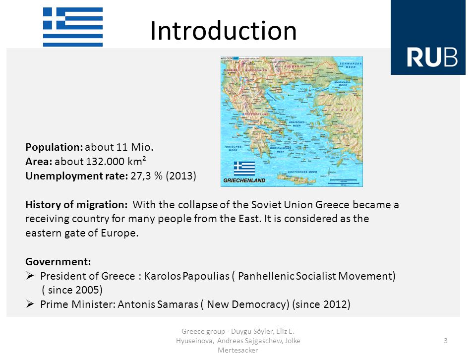 Introduction Greece group - Duygu Söyler, Eliz E.