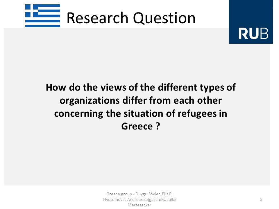 Research Question Greece group - Duygu Söyler, Eliz E.