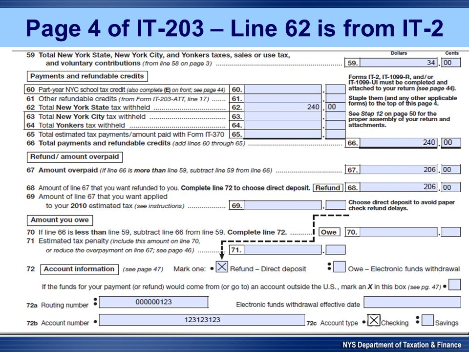 Page 4 of IT-203 – Line 62 is from IT-2
