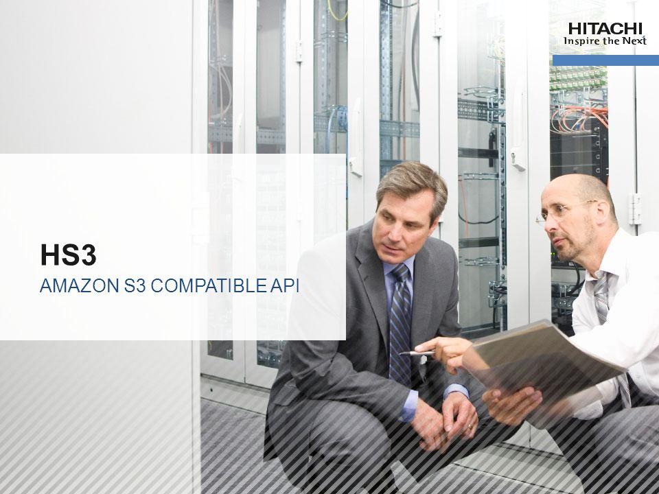 19 HS3 AMAZON S3 COMPATIBLE API