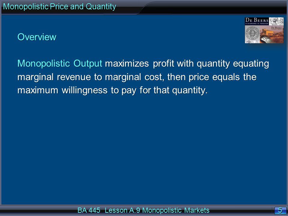 36 Price Taker or Perfect Competition MC = 8Q MR = P = $40.