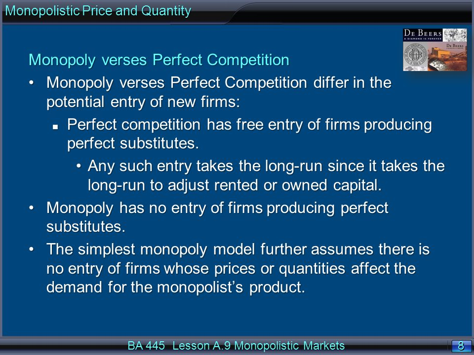 39 Summary Firms operating in a perfectly-competitive market take the market price as given.Firms operating in a perfectly-competitive market take the market price as given.