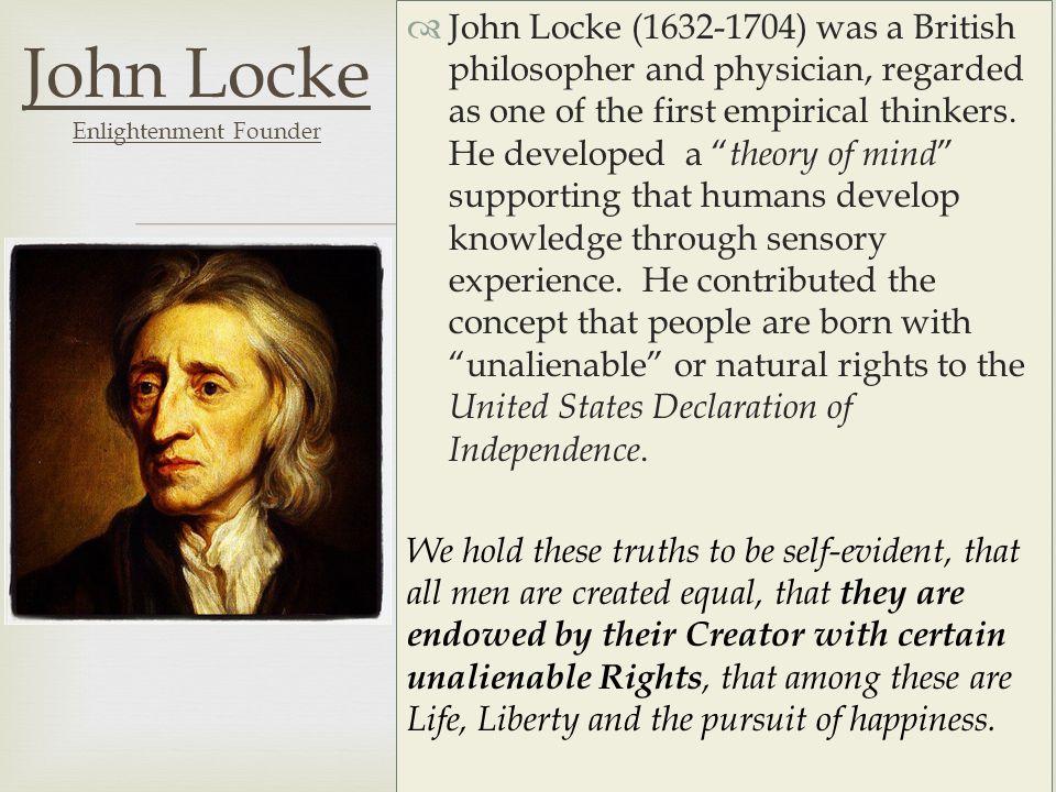 john locke a british philosopher John locke life and works john other british philosophers in the empiricist the constitutional republic is a legacy of locke's political philosophy iq.