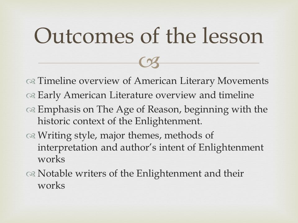   The Age of Enlightenment (or Age of Reason) was a cultural movement of intellectuals beginning in the late 17th and 18th century Europe emphasizing reason and individualism rather than tradition.