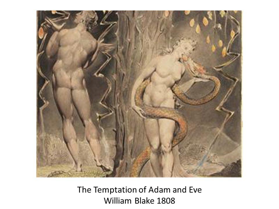 The Temptation of Adam and Eve William Blake 1808
