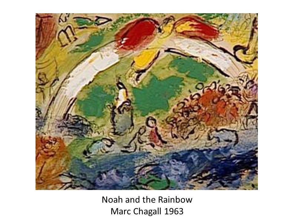 Noah and the Rainbow Marc Chagall 1963