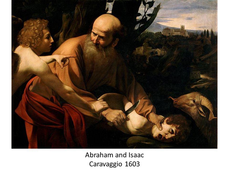 Abraham and Isaac Caravaggio 1603