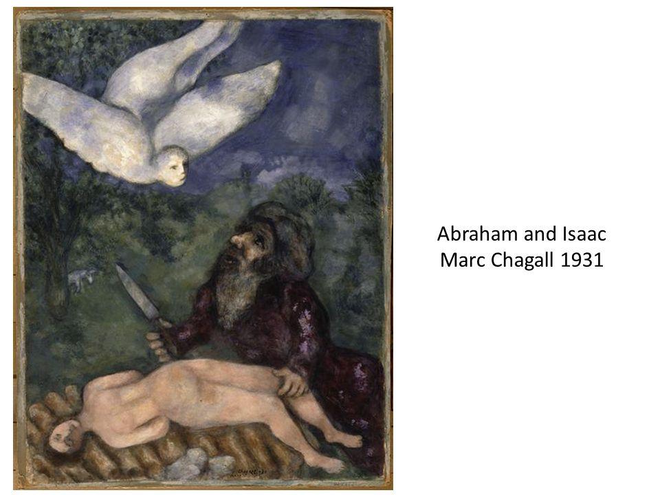 Abraham and Isaac Marc Chagall 1931