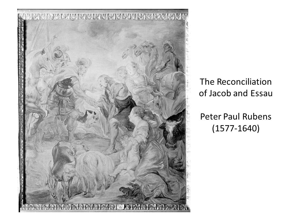 The Reconciliation of Jacob and Essau Peter Paul Rubens (1577-1640)