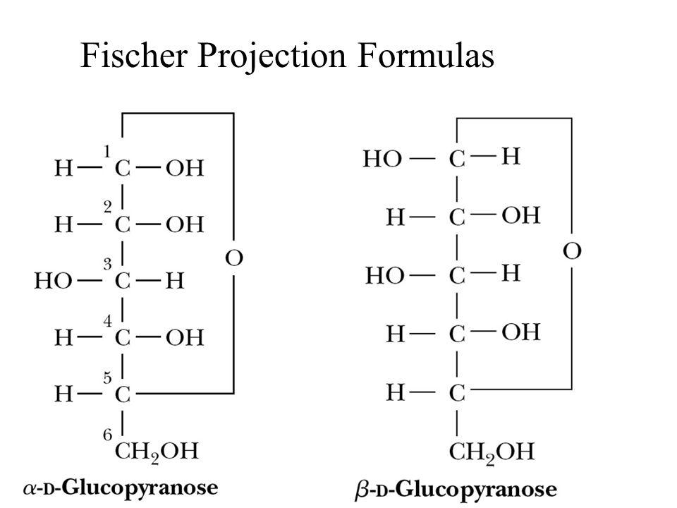 Fischer Projection Formulas