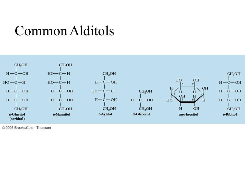 Fig. 7-11, p.212 Common Alditols