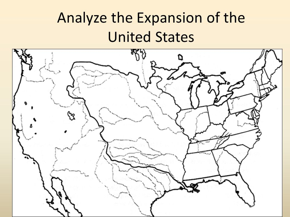 Analyze the Expansion of the United States
