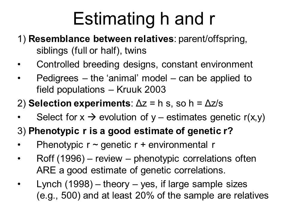 How heritable is behavior.