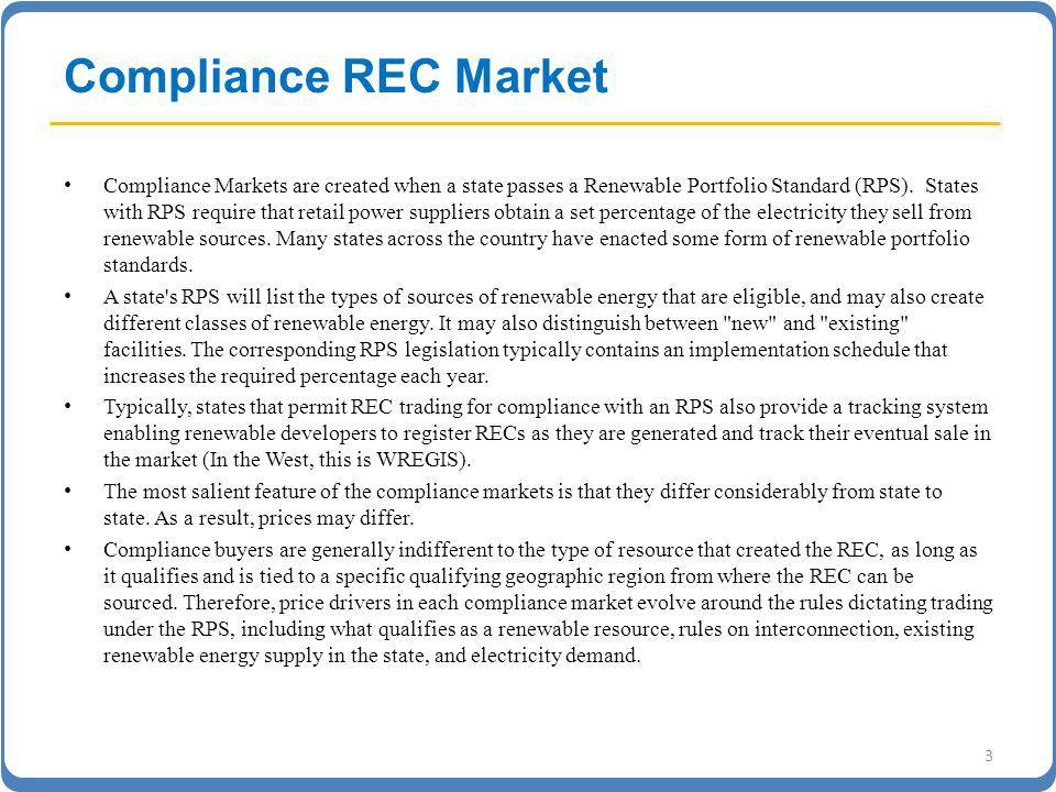 CA RPS MARKET OVERVIEW Source: PG&E