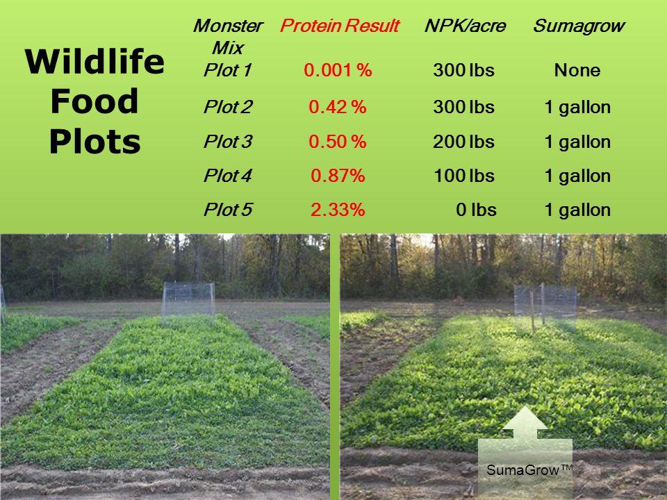 Virginia Forage Trials Average 15 Fields Treatment Soil NO3 (ppm) Plant NO3 (ppm) Brix (%) DM Yield (lb/ac) NPK24.67 a 323.33 b 6.00 b 3050 b 1 gal/ac SG31.29 c 431.43 c 7.43 a 3381 c Percentage Increase 26%33%23%10% a,b,c Within a column, means without a common superscript differ (p<0.05).