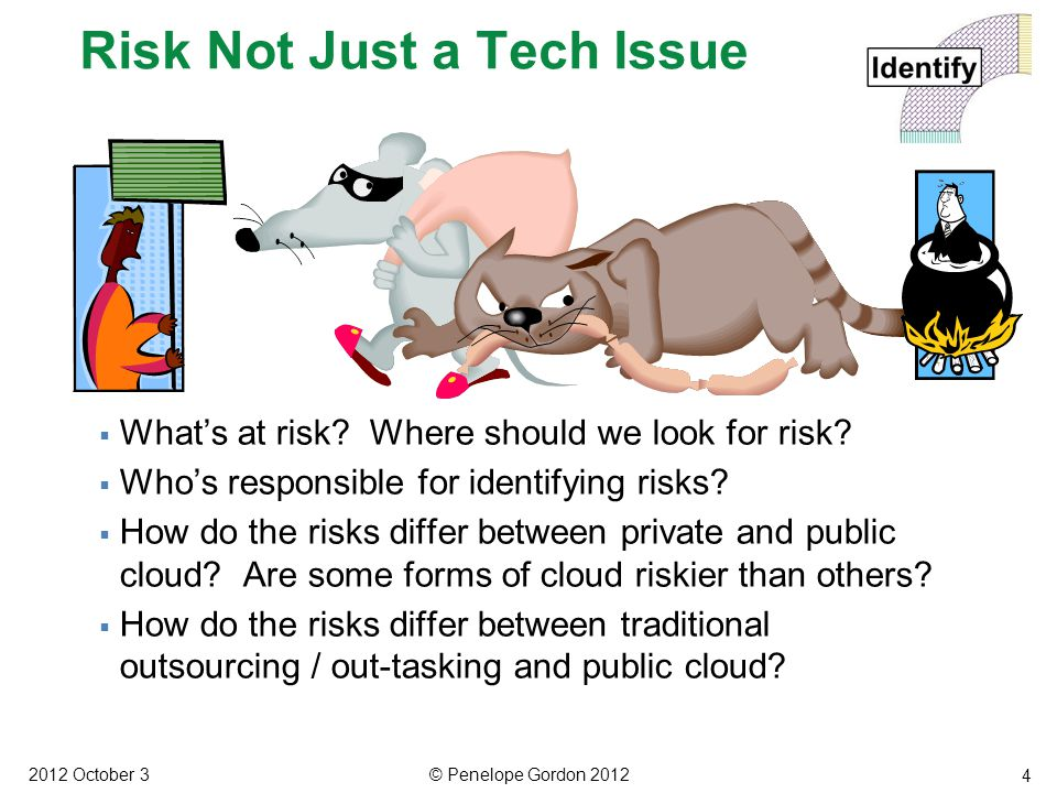 5  What is threat and risk assessment. How do cloud and non-cloud IT risk assessment differ.